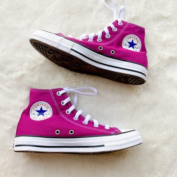 Converse Shoes | Nwob Fuchsia Pink